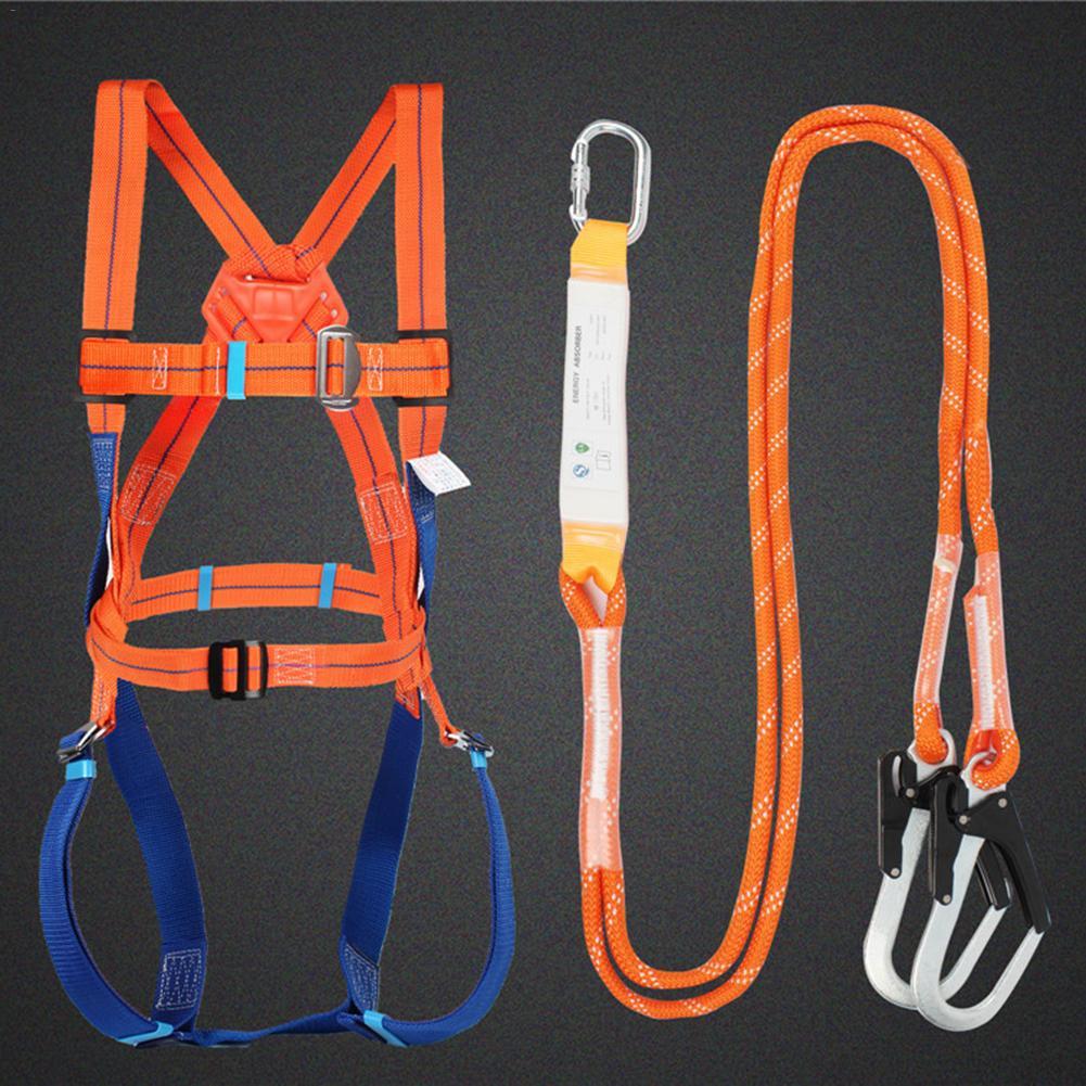 Harnais de sécurité ceinture de sécurité systémique à cinq points avec Double crochet opérations à haute altitude prévention des chutes équipement de protection