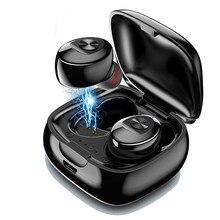 Беспроводные наушники XG12 TWS, Bluetooth наушники, водонепроницаемые спортивные стереонаушники с 5,0 звуком, гарнитура с микрофоном для телефона