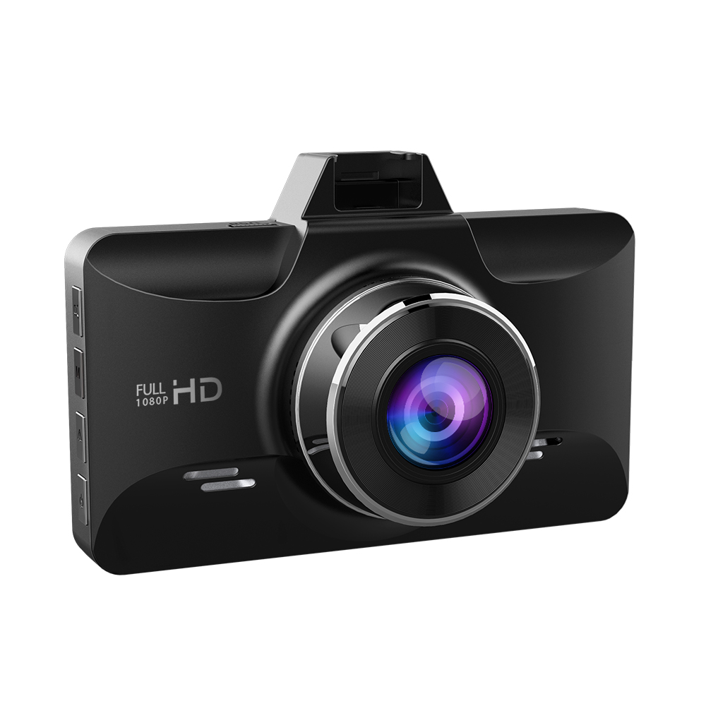 AZDOME M01 Dash cam 3-Inch Car DVR 1080P HD Recorder Driver Fatigue Alert 170 View Angle G-sensor for <font><b>Uber</b></font> Lyft car camera image