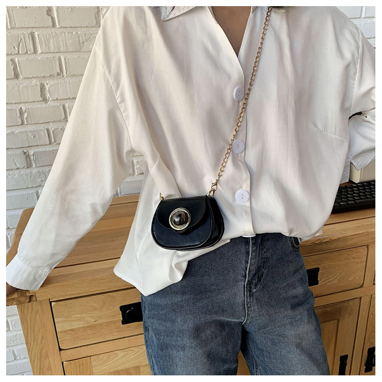 Mini Fashion Pu Soild Color Saddle Bags For Women Small Bag Leather Handbags And Lady Shoulder Bags Cross Body Bag (21)