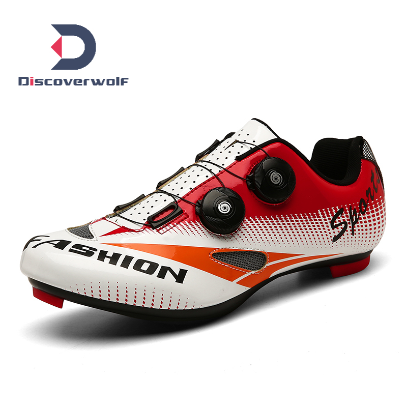 Men Professional Road Spd Bike Bicycle Shoes Outdoor Cycling Racing Sneakers