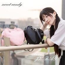 Women mini Handbag Fashion Love Heart Shape Shoulder Bag Wom