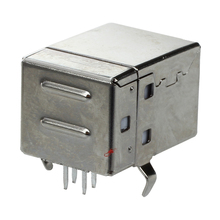 цена на 10 Pcs USB Female Type-B Jack 4-Pin 90 Degree PCB DIP Socket Connector