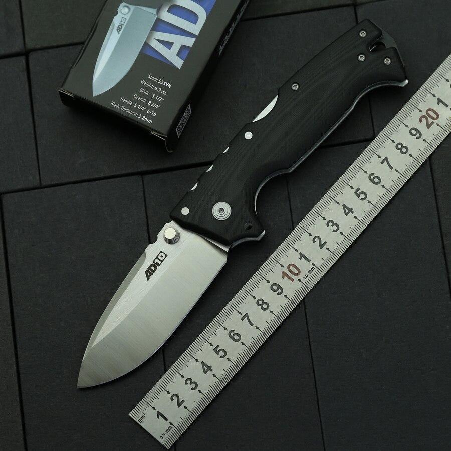 Складной нож AD10 D2 для кемпинга, тактические ножи с ручкой G10 для охоты, рыбалки, выживания, карманный Подарочный нож для фруктов, инструмент для повседневного использования|Ножи|   | АлиЭкспресс
