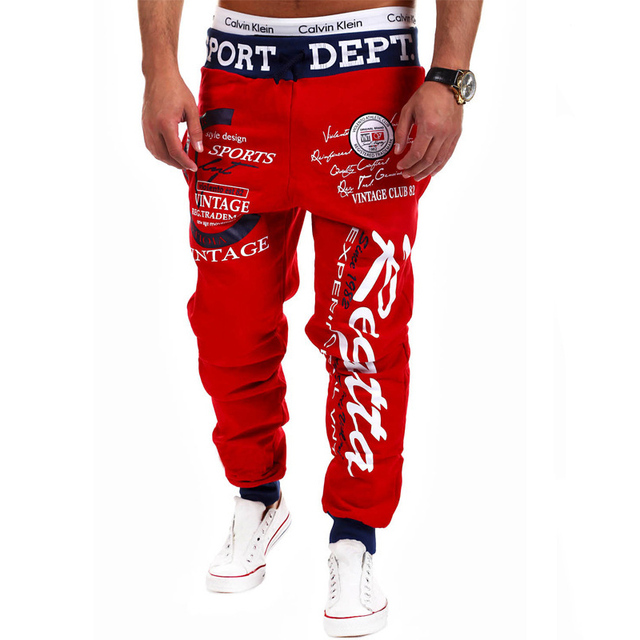 men's pants weatpants joggers Hip Hop cargo pants men casual fashion Teen wolf streetwear pantalones hombre TJWLKJ 5