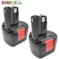 BAT048 Bonacell 3000mAh 9.6V NI-MH Bateria Recarregável para Bosch PSR 960 BH984 BAT119 BAT100 BAT001 BPT1041 BH974 2607335260