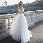 Chic Tulle Wedding D...