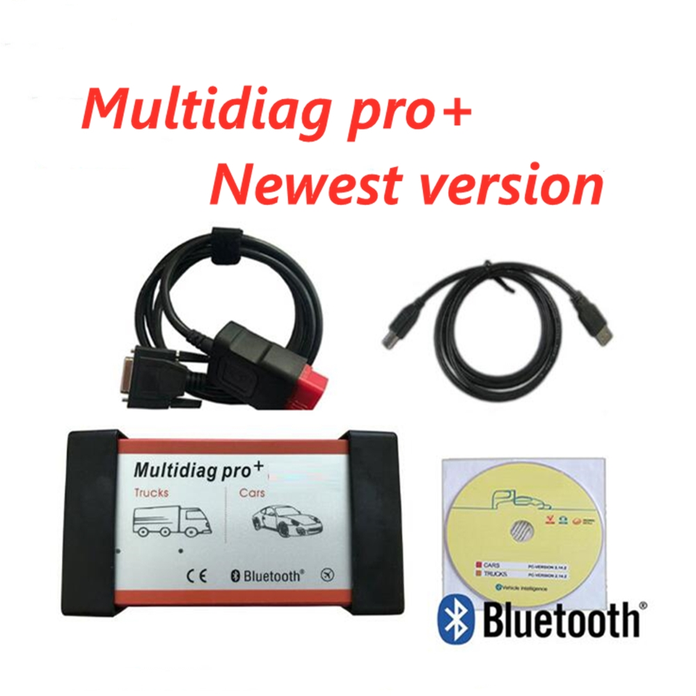 2019 Multidiag Pro+ Bluetooth 2015.3/2016.00 Keygen Vd Tcs C-d-p For Delphis Obd Obd2 Diagnostic Scan Tools For Auto Cars/Trucks