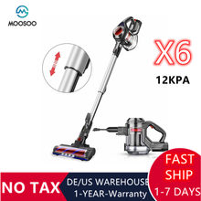MOOSOO – aspirateur à main X6, forte puissance d'aspiration 12kpa, manche sans fil, 1.2L, 100W