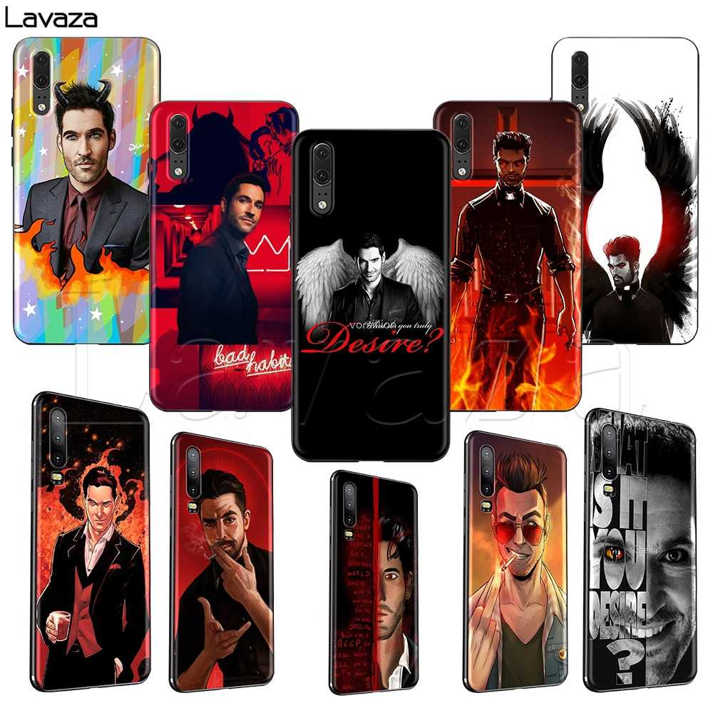 Lavaza TV Series Lucifer TPU Case untuk HUAWEI Mate 10 P8 P9 P10 P20 P30 Y7 Y9 Lite Pro P smart Mini 2017 2019 2018