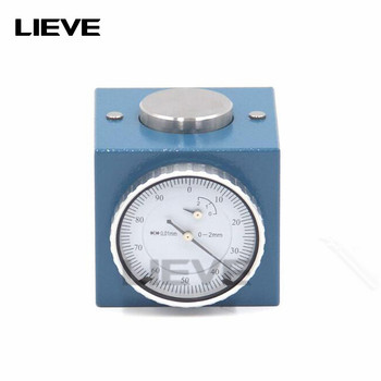 """Magnetic Z Axis Tool Dial Zero Pre Setter .001"""" Gage Offset CNC Metric Range 0 2mm