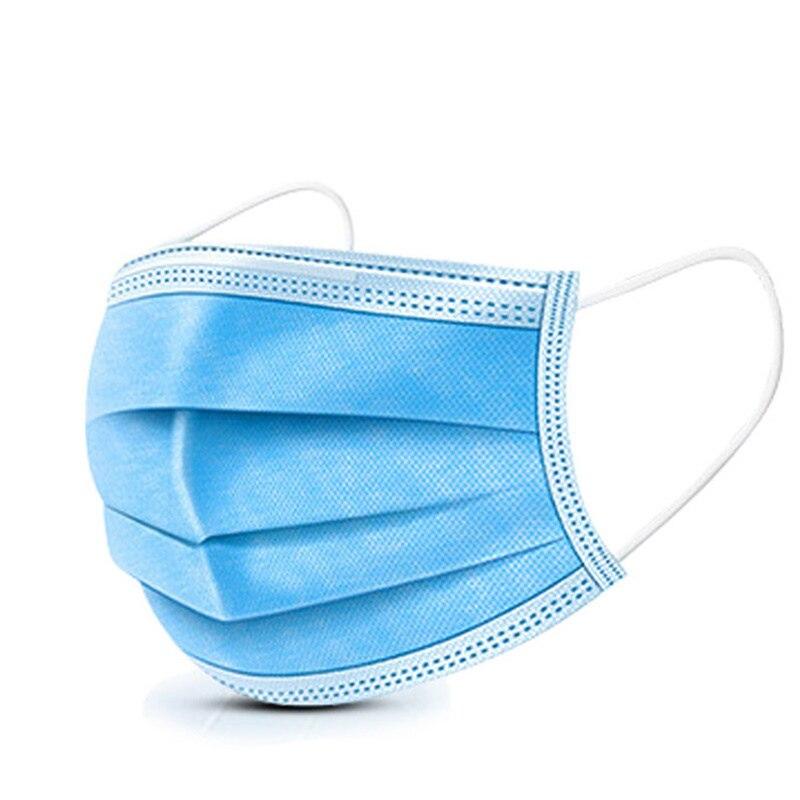 3 Layers China Mask High Quality Breathable Mouth Mask Meltblown Nonwoven Antivirus Face Mask Anti Mascherina Masque Coronavirus