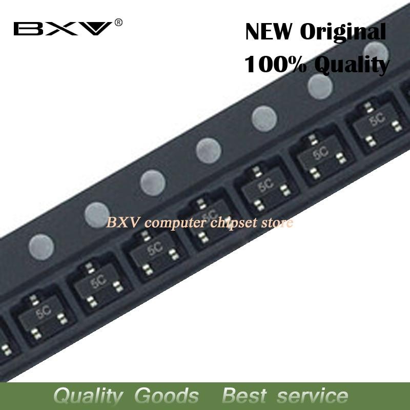 100 peças BC807-40 sot23 bc807 sot 807-40 sot-23 smd transistor novo e original