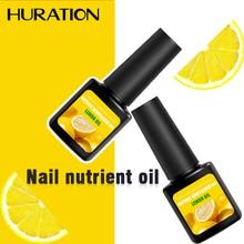 Huration Масло для кутикулы питательное масло Набор для полировки ногтей Фруктовый Вкус 12 цветов Маникюр кутикулы геллак Базовое покрытие Топ УФ Дизайн ногтей
