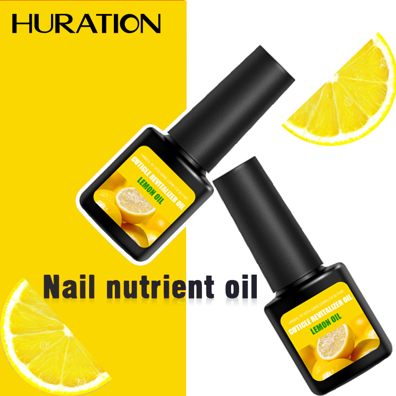 Huration Cuticle Oil Nourishing Oil Set Nail Polish Fruit Flavor 12 Colors Manicure Cuticle Gellak Base Coat Top UV Nail Design
