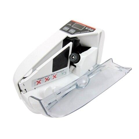 mini dinheiro moeda maquina de contagem acessivel bill dinheiro contador de notas ac ou bateria