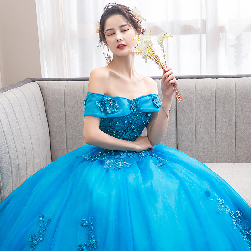 Sexy Off Shoulder Sheer Top Sweet 16 Quinceanera Dresses Sleeveless Lace Appliques 3d Flowers Pearl Long Vestidos De 15 Anos