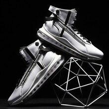 מותג 2020 אופנה סניקרס גברים מקרית גברים של נעלי אוויר כרית גבוהה למעלה חורף חדש גברים של ספורט נעלי נעליים באיכות גבוהה