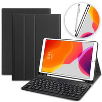 Keyboard Case for iPad 10.2 2019 bluetooth cover for Apple iPad 7th Generation A2200 A2198  wireless capa Russia Spain keyboard|Tablets & e-Books Case| |  -