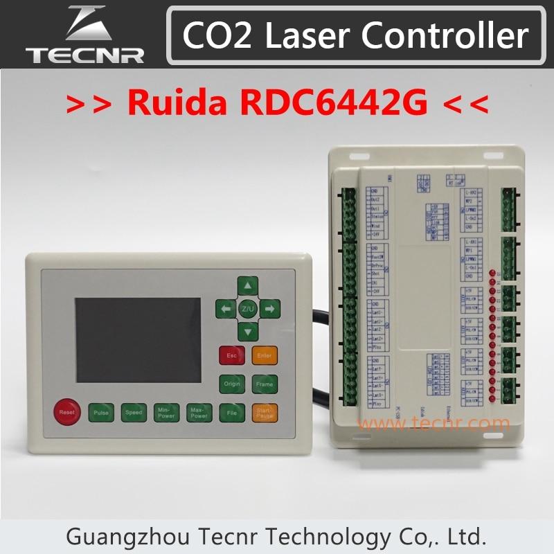 RUIDA RDC6442G CO2 Sistema de control láser Controlador DSP de 4 ejes para máquina de corte por láser co2 RDC 6442G