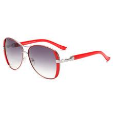 Marka projekt modne okulary przeciwsłoneczne damskie odcienie Vintage metalowa rama okulary przeciwsłoneczne dla kobiet okulary UV400 óculos de sol tanie tanio kepdomsa CN (pochodzenie) WOMEN Pilotki Adult STOP 54 mm Z poliwęglanu TF543 63 mm