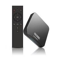 Mecool KM9 pro Android 9.0 Smart TV Box Voice Control Quad core ARM Cort 4GB DDR4 RAM 32GB ROM 2.4G/5G WiFi BT4.1 4K Set Top Box