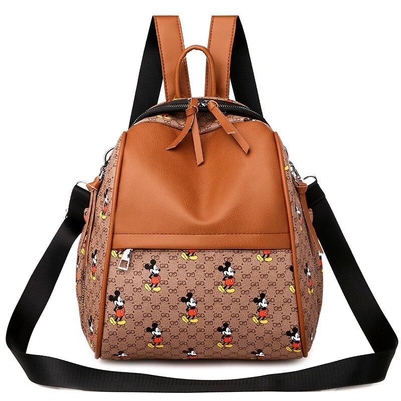 2020 Packpack Purse For Women PU Leather Luxury Back Pack Cute Backpack Teens Women's Ladies School Backpack Female Shoulder Bag