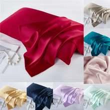 100% натуральный Шелковый чехол на молнии для подушки дома спальни