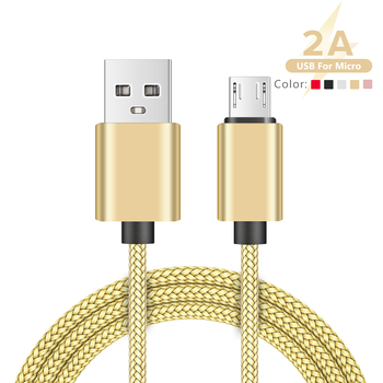 YCDC микро USB кабель 2A для быстрой зарядки передачи и синхронизации данных зарядный кабель для Samsung Huawei Xiaomi LG HTC Android Microusb мобильный телефон кабели