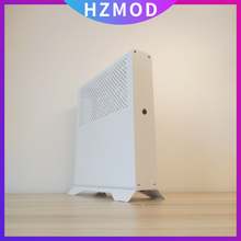 HZMOD Flat XQ69 V4.3 NON-A4 ITX мини Чехол шасси Htpc Независимый дисплей ITX / SFX-L поставка/замена Sentry 2,0