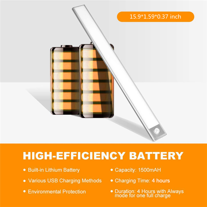 70 LED PIR Motion Sensor Under Cabinet Light 1