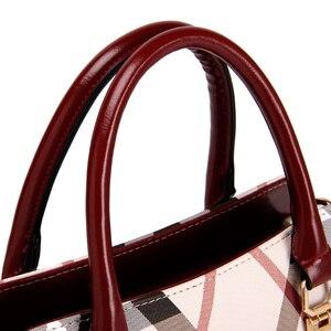 Image 5 - Tasche frauen Vintage PVC Leder England Stil Weibliche Handtasche Mode Kette Bolsa Feminina Casual Outdoor Frauen Taschen 2020