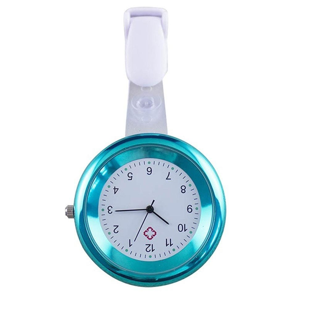 Hot Sel Fashion Pocket Watch Silicone Nurse Watch Round Numeral Analog Quartz Nurse Medical Doctor Brooch Pocket Watch With Clip