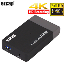 Echt 4k 30hz 1080p 60fps 120fps Spiel Link RAW USB 3,0 HDMI Video Capture Card Ultra HD video Aufnahme Gerät Live Streaming Box