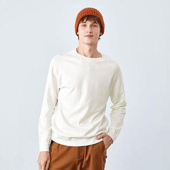 SEMIR yeni marka yün kazak erkekler 2019 sonbahar moda uzun kollu örme kazak erkekler kaşmir kazak yüksek kaliteli giysiler
