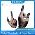 Flydigi ОСА щупальца 4 напальчник устойчивость к поту чувствительный никаких задержек Высокая мощность Зеленая лазерная указка Мобильный теле...