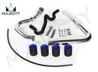 1kit x אלומיניום טורבו Intercooler צנרת צנרת עבור אאודי A4 1.8T Quattro B5 1.8L שחור/אדום/כחול באתר