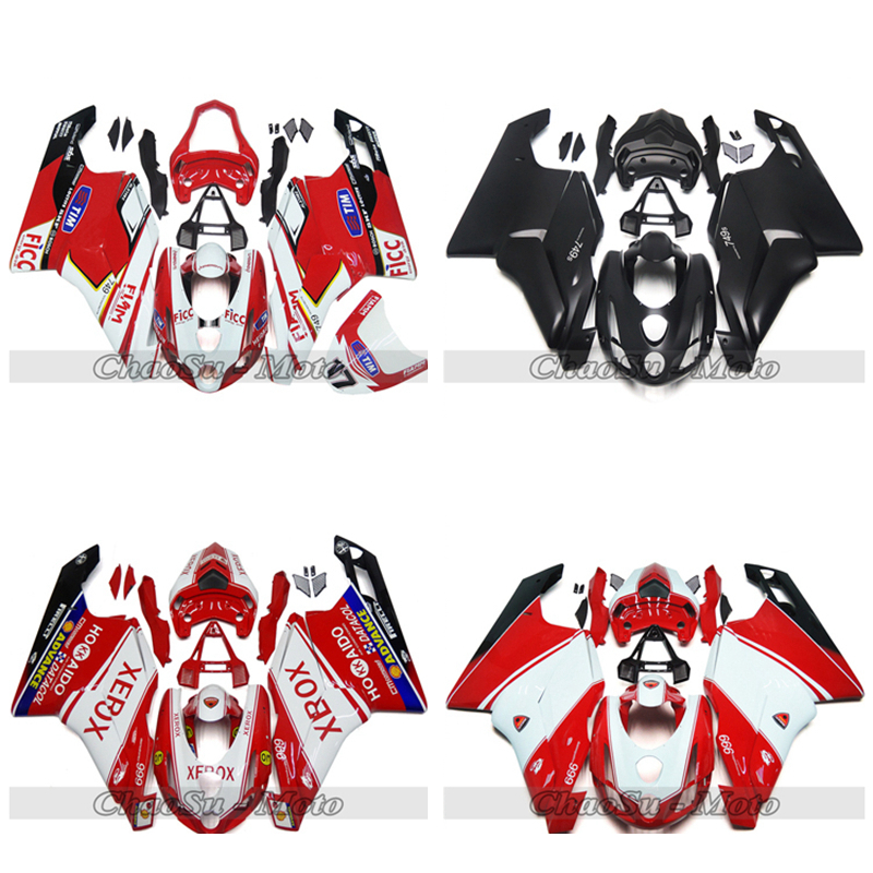 Bodywork Fairing Kit For DUCATI 749 999  2003 2004 ABS Plastic Injection Molding Fairings More Colors DIY Color