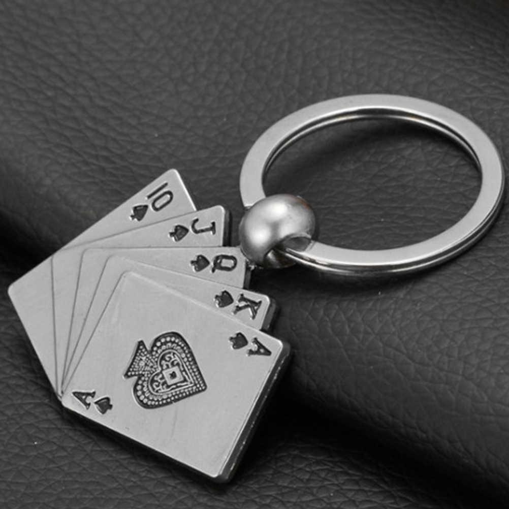 Chaveiro de metal de luxo chaveiro de carro anel de chave de metal de luxo