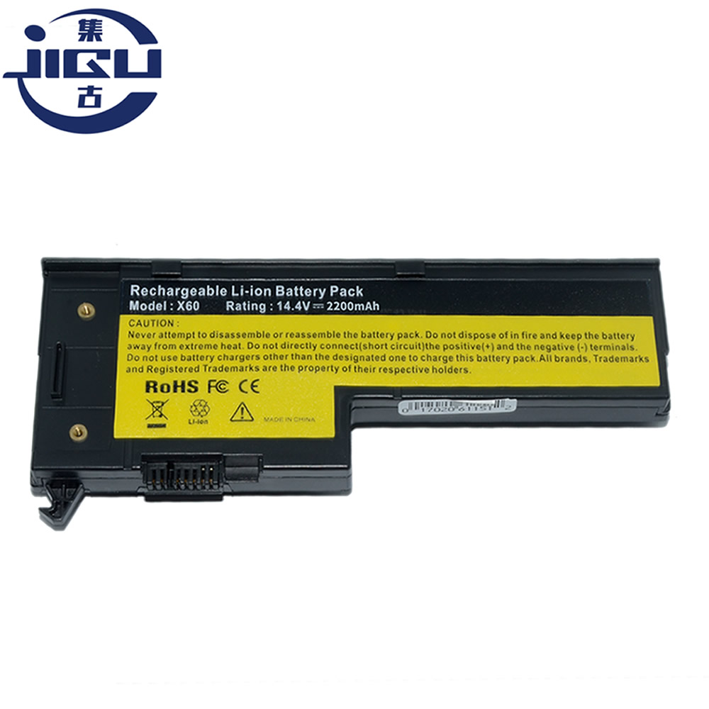 JIGU Laptop Battery For IBM Lenovo ThinkPad X60 1706 2509  ThinkPad X60s 1702 2522  ThinkPad X61 7676 ThinkPad X61s 7669 Series