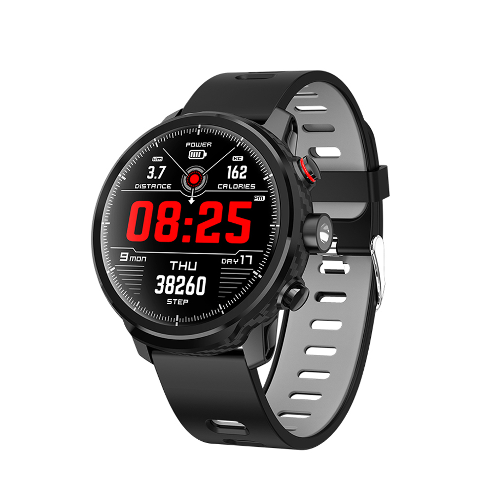 L5 Smart Watch IP68 Waterproof Men Women Multiple Sport Mode Heart Rater Weather Forecast Bluetooth Smartwatch For Android IOS image