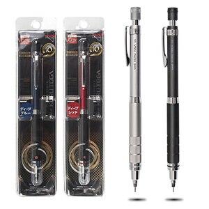 Image 5 - اليابان UNI M5 1017 Kuru Toga أقلام رصاص ميكانيكية معدنية رسم التلقائي دوران قلم رصاص 0.5 مللي متر الكتابة ثابت الرصاص