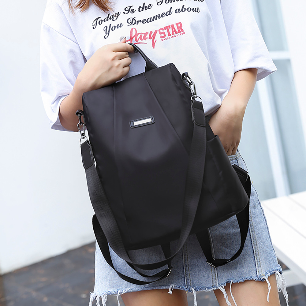 Women Travel Backpacks Multi-Functional Outdoor Bag Anti-theft High Quality Oxford Cloth Durable Useful Backpacks сумка женская