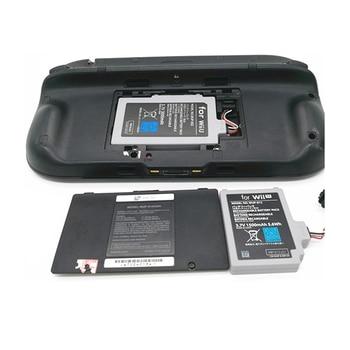1pc 3.7V 3600mAh Rechargeable Li-ion Battery Pack for Nintendo Wii U Gamepad Wii-U Wiiu GamePad Controller Joystick