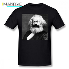 Karl Marx T Shirt T-Shirt Male Funny Tee Print Big Short Sleeves 100 Percent Cotton Beach Tshirt