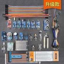 U30 24 in1 Arduino için sensör kiti, ahududu pi 4 GPIO Kurulu, Mesafe modülü ve Breadboard