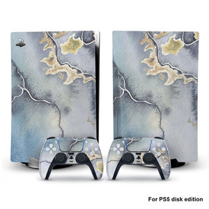 Image 5 - For PS5 Console Disk Edition Carbon Fiber Skin Decal Cover for PlayStation 5 Console Glaxy Sticker For PS5 Accessories
