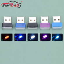 Decorative-Lamp Ambient-Light Car-Jewelry Led-Atmosphere-Lights Interior Neon Mini-Usb