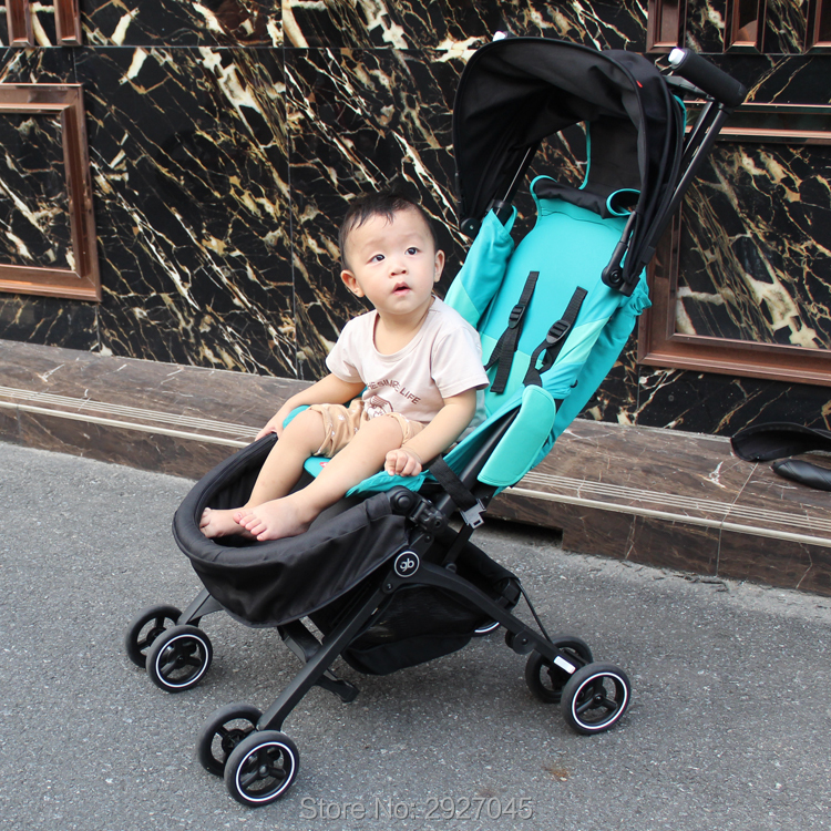 Image 3 - Baby stroller accessories extend footboard extension footrest footmuff for Goodbaby Pockit 2019/ Pockit plus/ Pockit+/ GB PockitStrollers Accessories   -