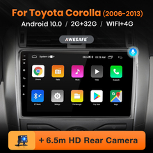 AWESAFE PX9 for Toyota Corolla E140/150 2007-2013 Car Radio Multimedia video player GPS No 2din 2 din Android 10.0 2GB+32GB